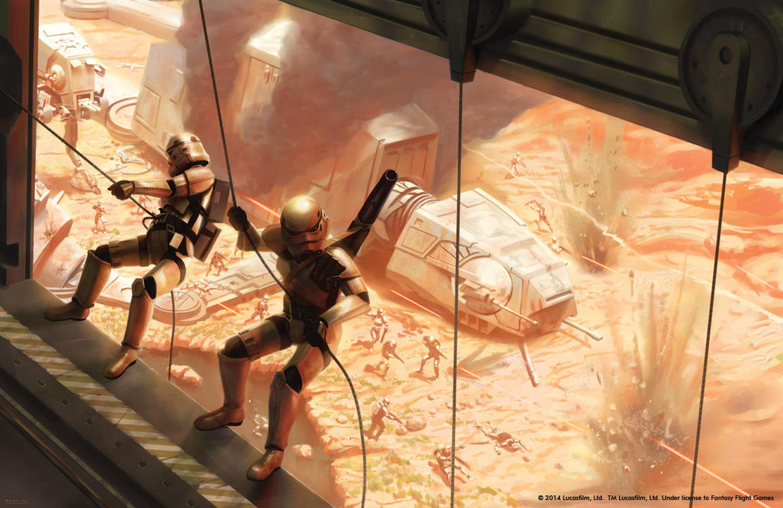 Star Wars Stormtroopers Fantasy Art Artwork Bwing Down: Disembarkation By JakeMurray On DeviantArt