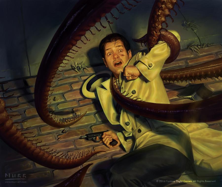 Cthugha Arkham Horror Gates of Arkham by Jak...