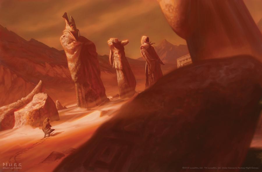 Star Wars RPG - Fearful Landscape by JakeMurray