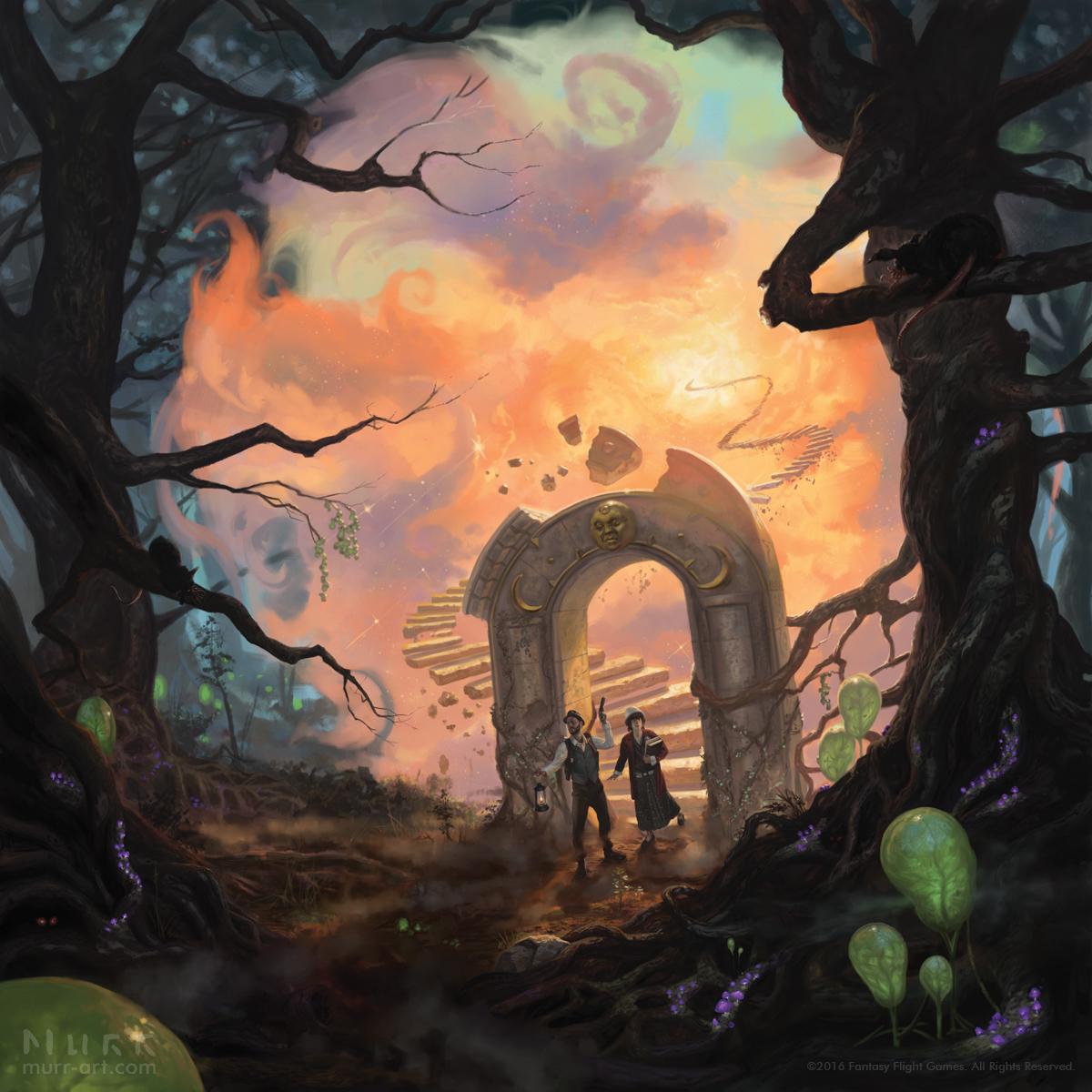Eldritch Horror: The Dreamlands by JakeMurray