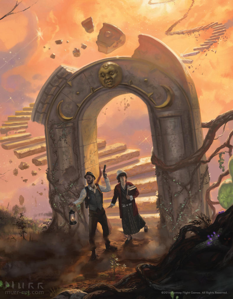 Eldritch horror the dreamlands detail crop by - Eldritch wallpaper ...