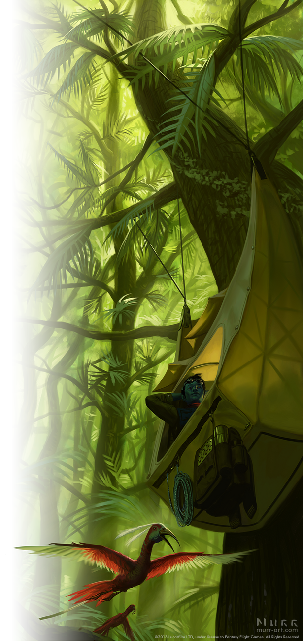 Edge of the Empire: Setting Up Camp by JakeMurray