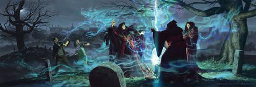Arkham Horror: The Circle Undone by JakeMurray