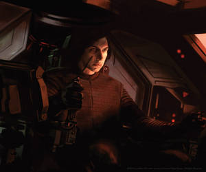 Kylo Ren, Tie Silencer Pilot