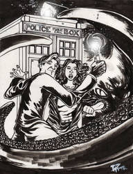Dr Who commission by DelHewittJr
