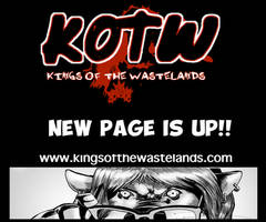 NEW PAGE IS UP!