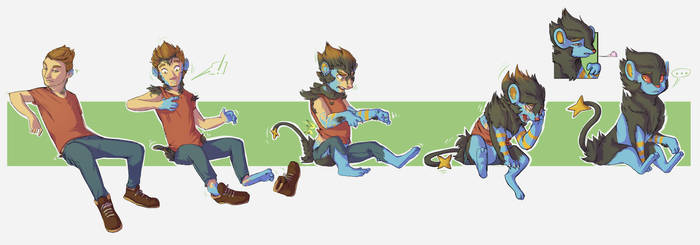 COM Luxray for Tivadu by FauvFox