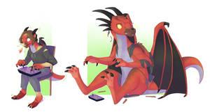 COM Dragon fighter