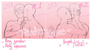 YCH couple kisses(closed)