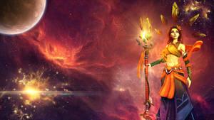 Inara -Space Wallpaper-