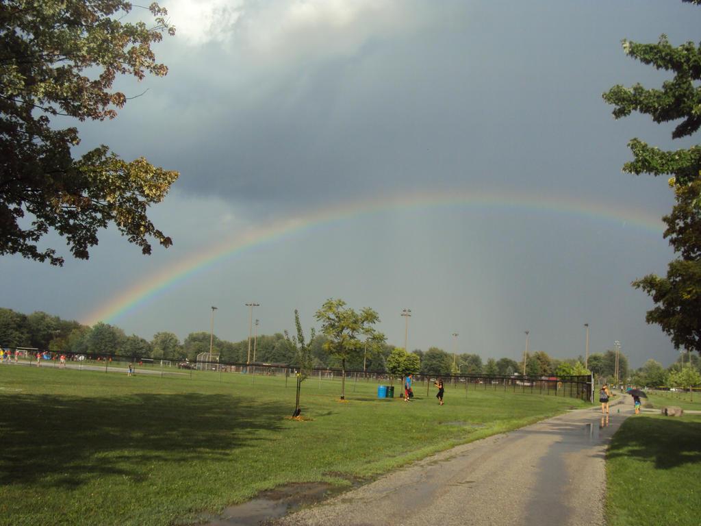 RAINBOW AT A PARK