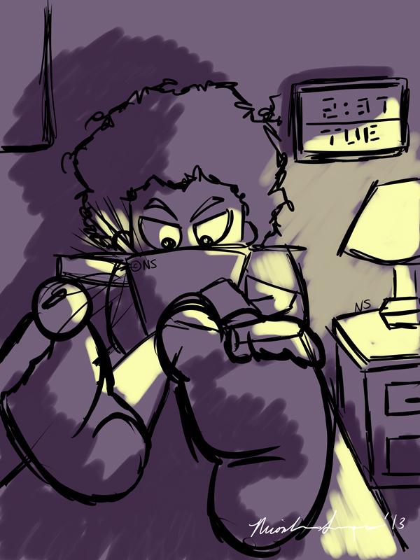 Shouldn't I be sleeping? by Enaicioh