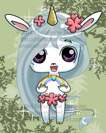 Chibi Unicorn by Enaicioh