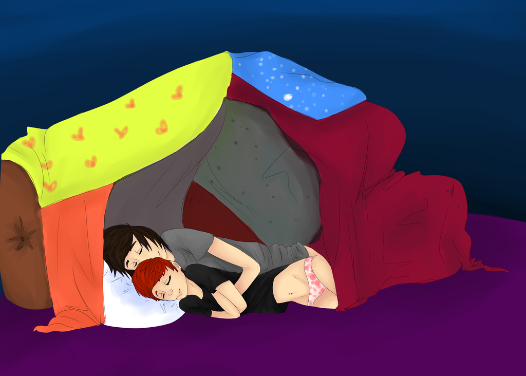 Pillow Forts! by BearBats on DeviantArt