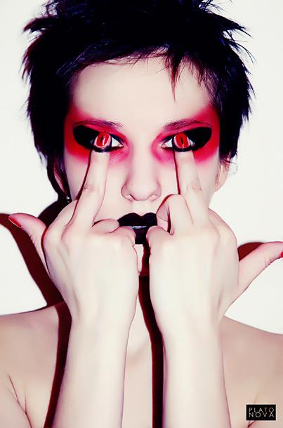 Demonic Eyes by DragonOfLust