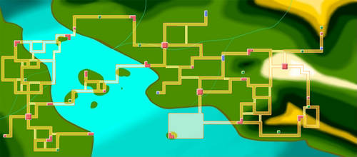 Pokemon Map- Fujito Region by Shi-Mio-Ling