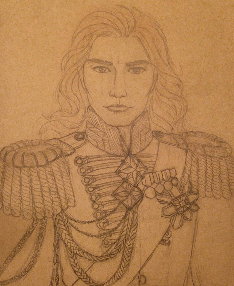 Maedhros in full dress uniform by FromMidworld