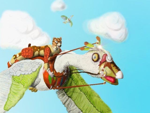 Sky Riders by felix-leg