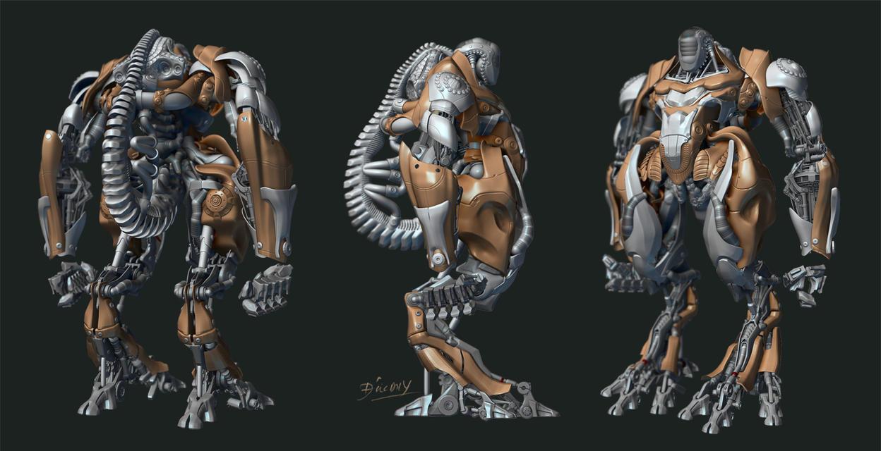 Robot by zongdatdo811