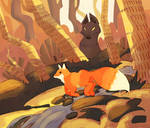 Mr Fox by ApollinArt