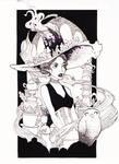 Inktober#2 The Tea Witch