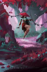 Cherry by ApollinArt