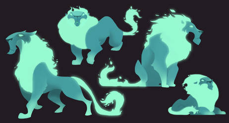 Character Design:Immortal Guardians by ApollinArt