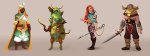 Commission 'Borders of Kanta': Characters
