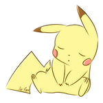 Sleepy Pikachu