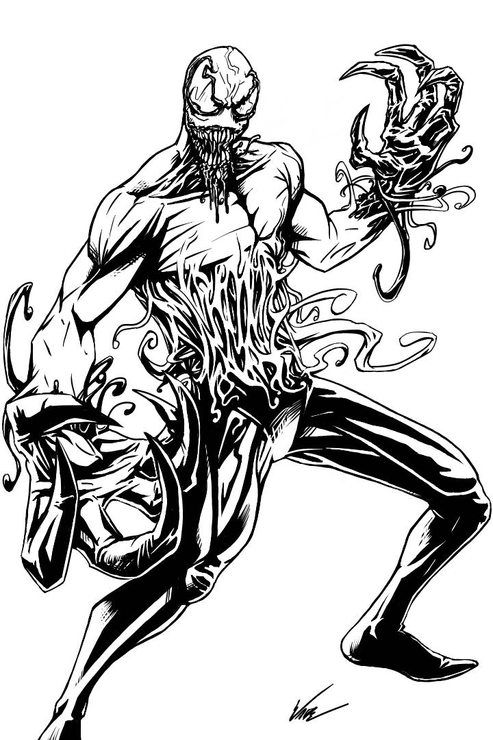Toxin Coloring Page