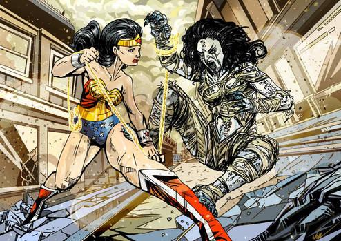 Wonder Woman versus The Mummy
