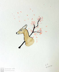 Watercolor - Doe