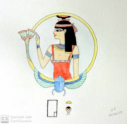 Aquarelle - Hathor