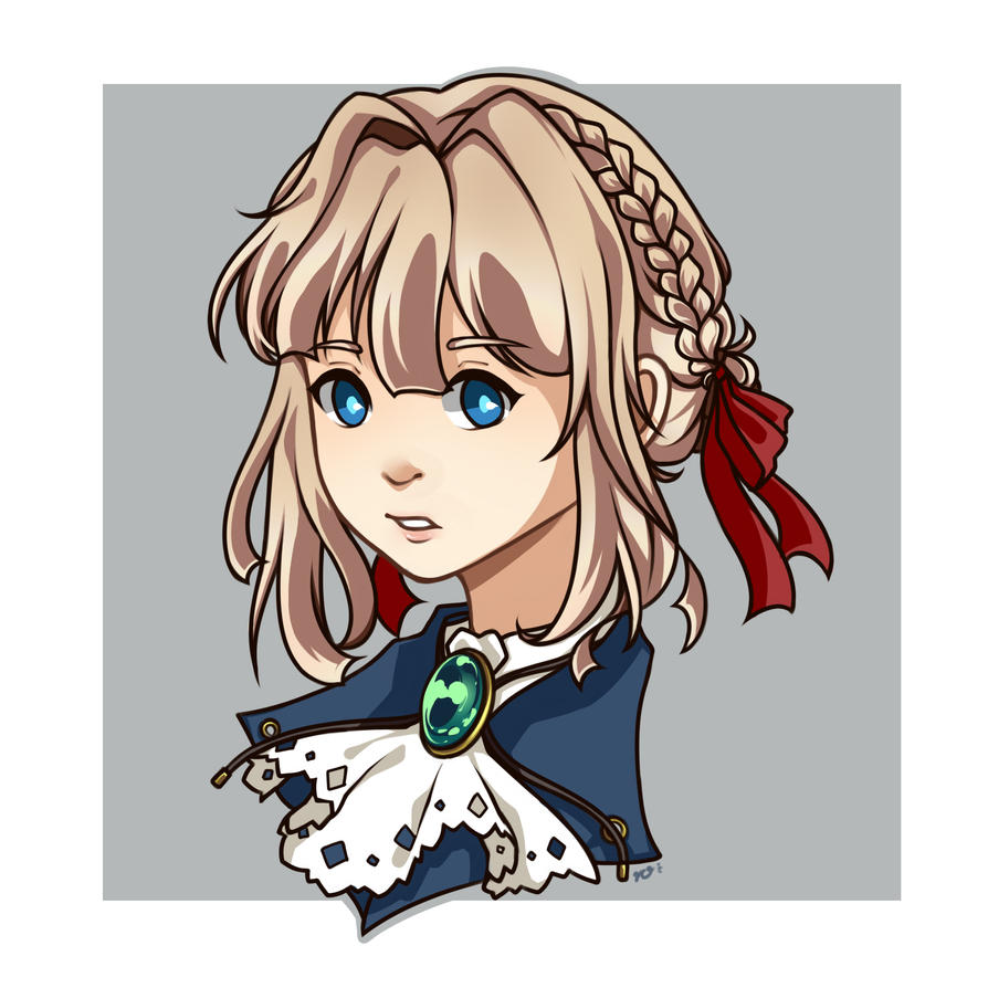 Violet Evergarden By Klaukezia On DeviantArt