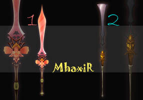 [CLOSED] Design Adopt Weapon - 11 by MhaxiR