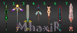 [CLOSED] Custom Weapons Slots 1 by MhaxiR