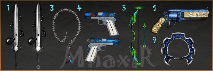 [CLOSED] Custom Weapons Slots 9 by MhaxiR