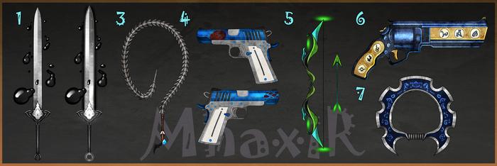 [CLOSED] Custom Weapons Slots 9 by MhaxiR