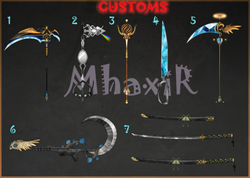 [CLOSED] Custom Weapons Slots 10 by MhaxiR
