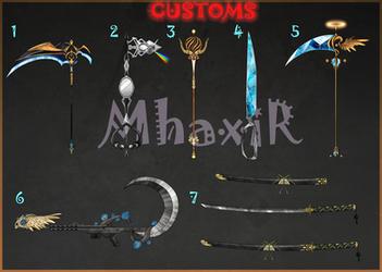 [CLOSED] Custom Weapons Slots 10 by MhaxiR