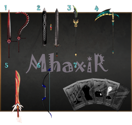 [CLOSED] Custom Weapons Slots 11 by MhaxiR