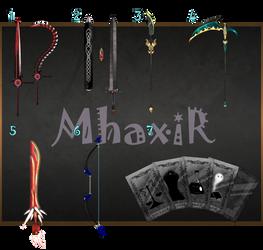 [CLOSED] Custom Weapons Slots 11 by MhaxiR