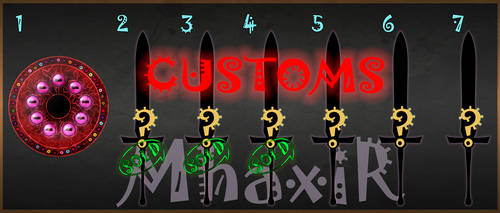 [CLOSED] Custom Weapons Slots 13 by MhaxiR