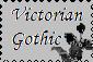 Victorian Gothic Postzegel by Romance-Le-Noir