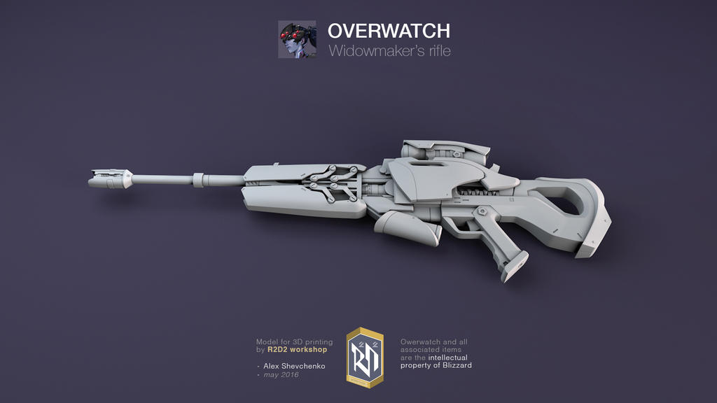 Overwatch widowmaker 3d model gun by r2d2 workshop on deviantart overwatch widowmaker 3d model gun by r2d2 workshop malvernweather Image collections