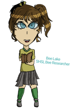Bee Lake SHSL Bee Researcher