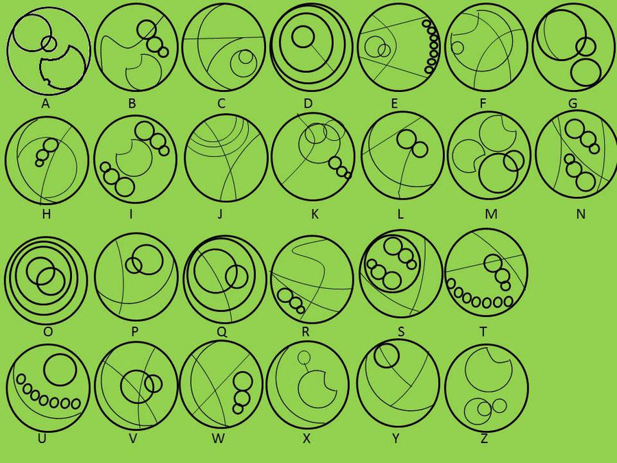 gallifreyan symbols wallpaper - photo #28