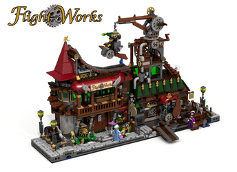 Lego Ideas:  Flight Works by EndlessAges