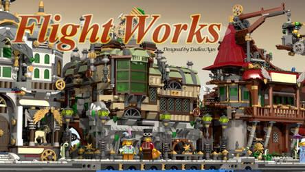 LEGO Worlds:  Flight Works Series