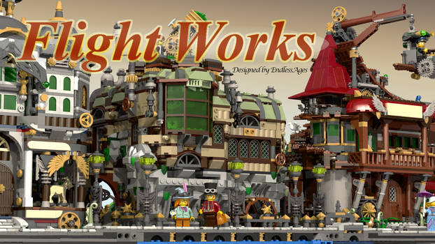 LEGO Worlds:  Flight Works Series